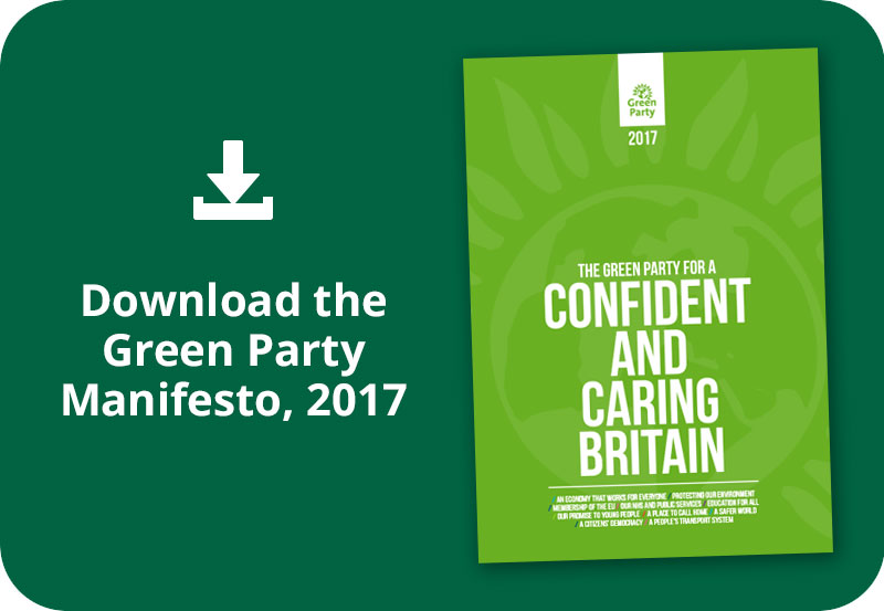 Download the Green Party Manifesto, 2017
